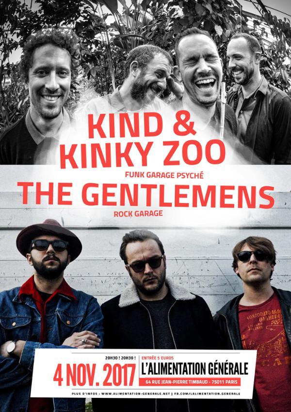 THE GENTLEMENS + KIND & KINZY ZOO