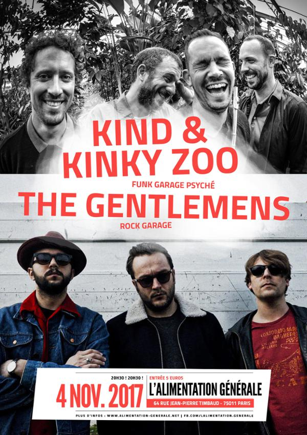 THE GENTLEMENS + KIND & KINZY ZOO