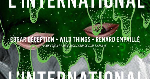 Edgar Déception • Wild Things • Renard Empaillé • Bob Cooper