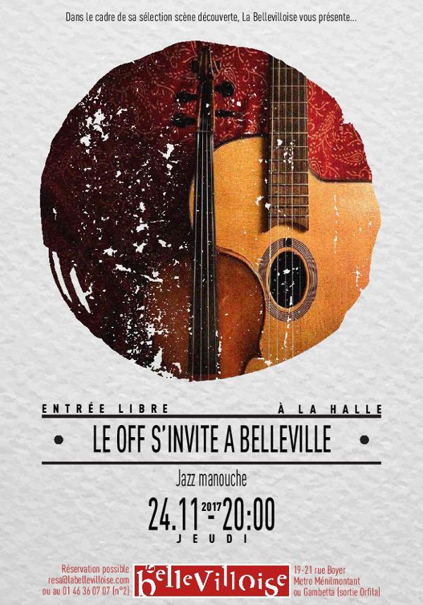 LE OFF S'INVITE A BELLEVILLE