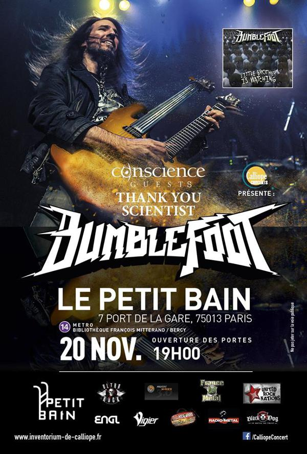 Bumblefoot / Thank You Scientist / Conscience