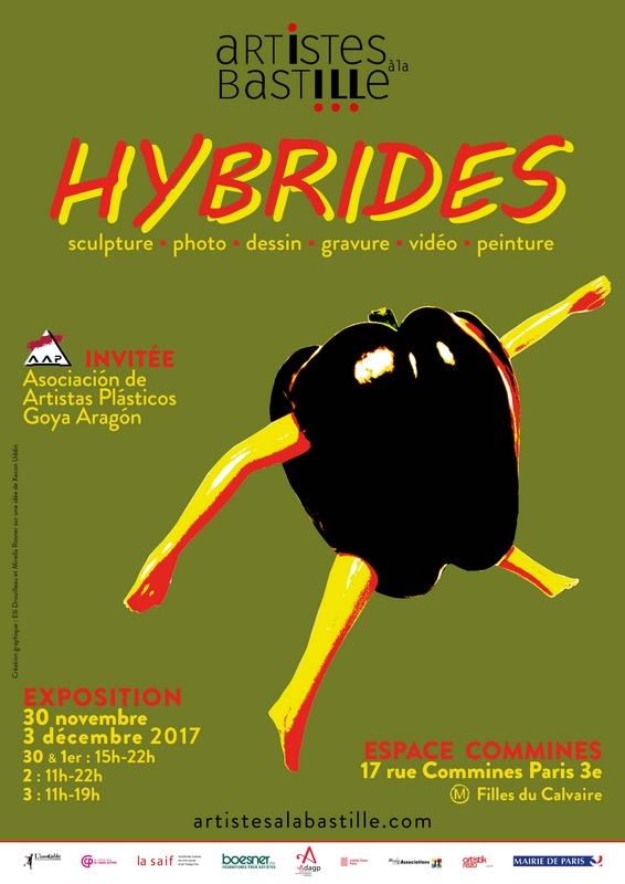Exposition « Hybrides » d'Artistes à la Bastille