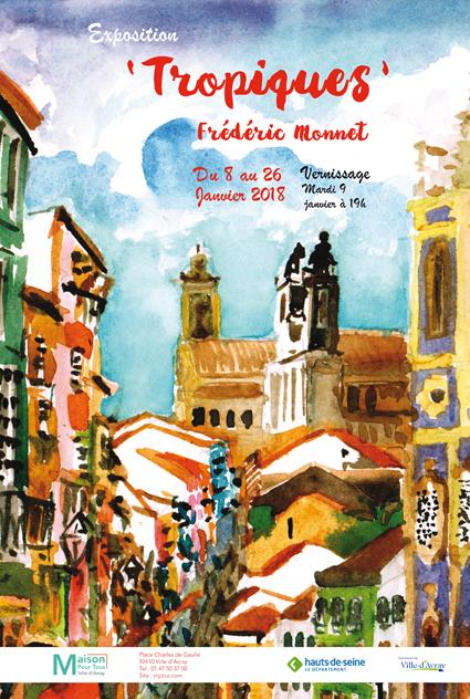 Tropiques, exposition de Frédéric Monnet