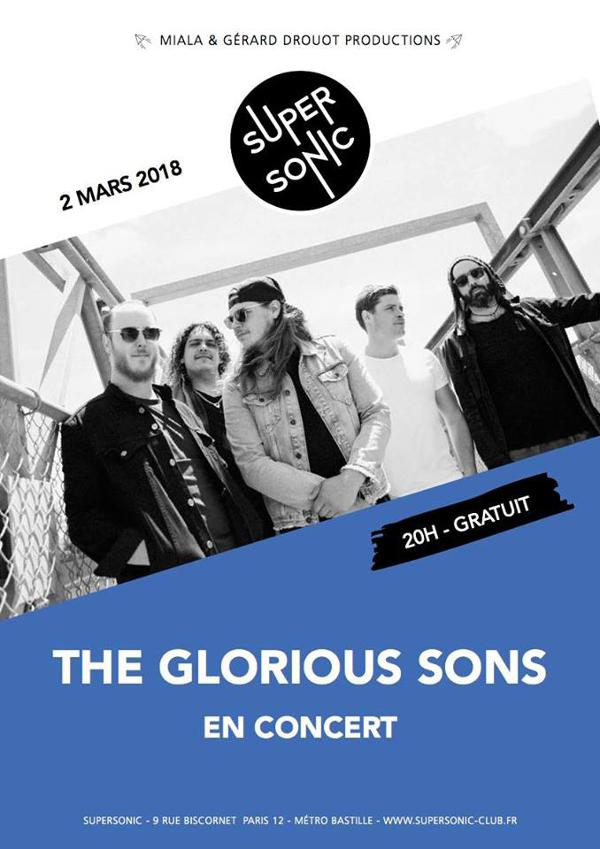 The Glorious Sons • Off The Light / Supersonic - Free