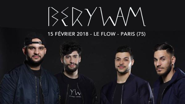 Berywam - Le Flow, Paris
