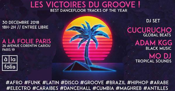 Les Victoires du Groove !! Best Dancefloor Tracks of the Year