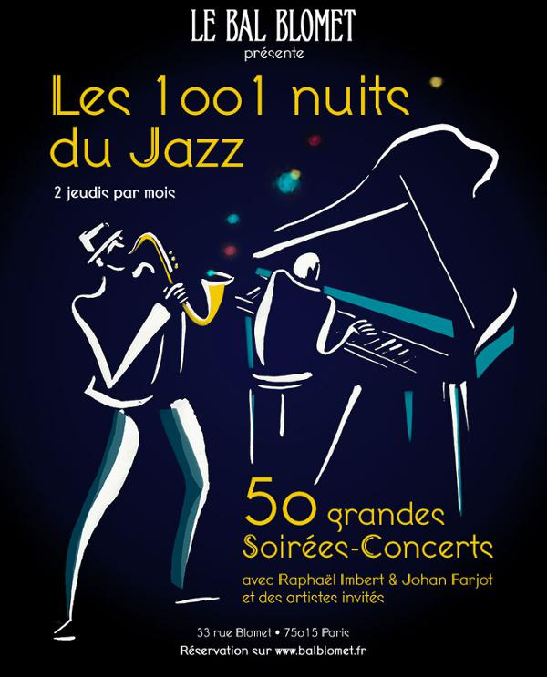 LES 1001 NUITS DU JAZZ – LEGENDES DE LA BATTERIE JAZZ, d'Elvin JONES à Daniel HUMAIR