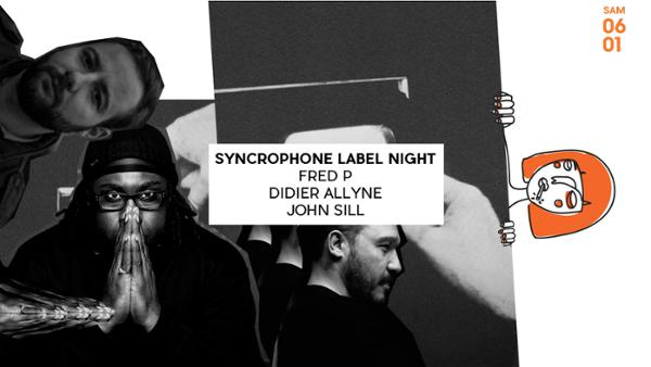 Syncrophone Label Night