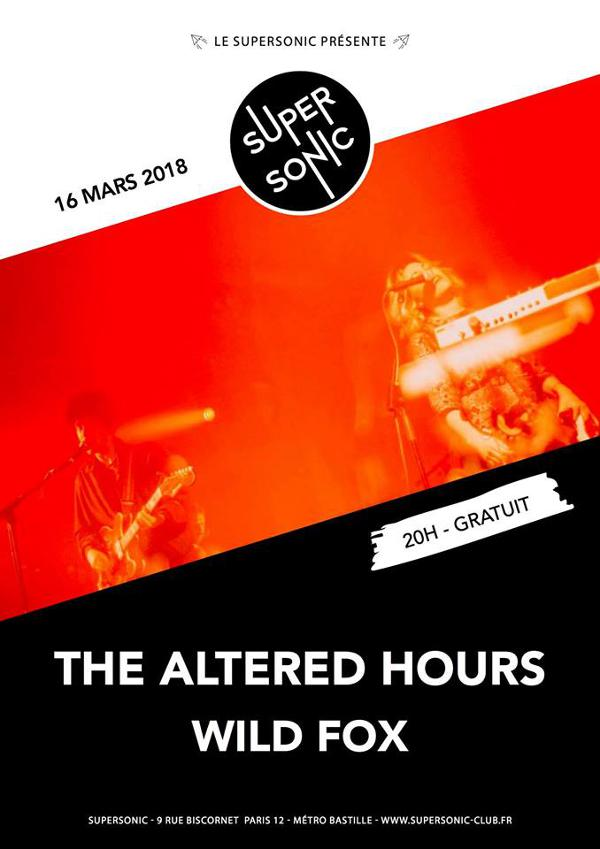 The Altered Hours (A Recordings Ltd) • Wild Fox / Supersonic