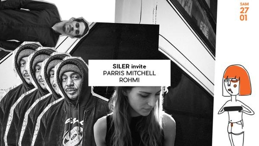 Badaboum - Siler invite Parris Mitchell & Romi