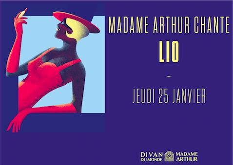 Madame Arthur chante Lio