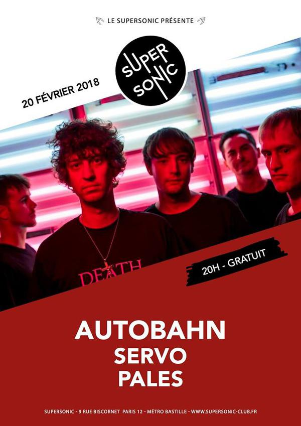 Autobahn (Tough Love, Felte) • SeRvo • Pales / Supersonic - Free