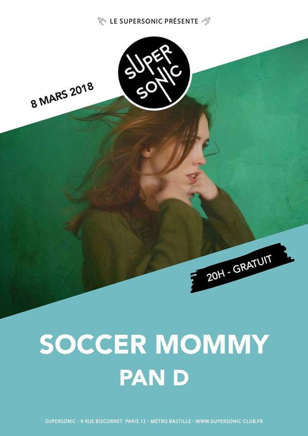 Soccer Mommy (Fat Possum, USA) • Pan D / Supersonic - Free