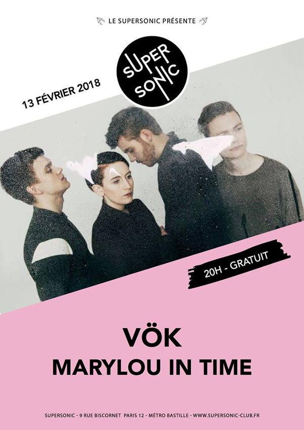 VÖK • Marylou in Time / Supersonic - Free