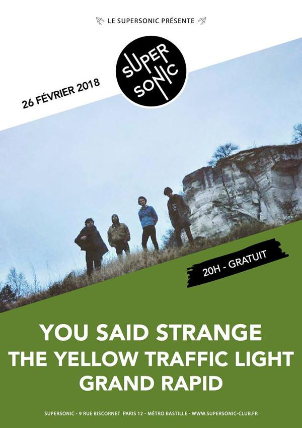 You Said Strange • The Yellow Traffic Light • Grand Rapid / Free