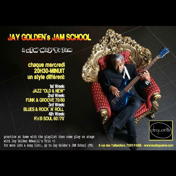 Jay Golden's Jam School - Jazz old and new school -