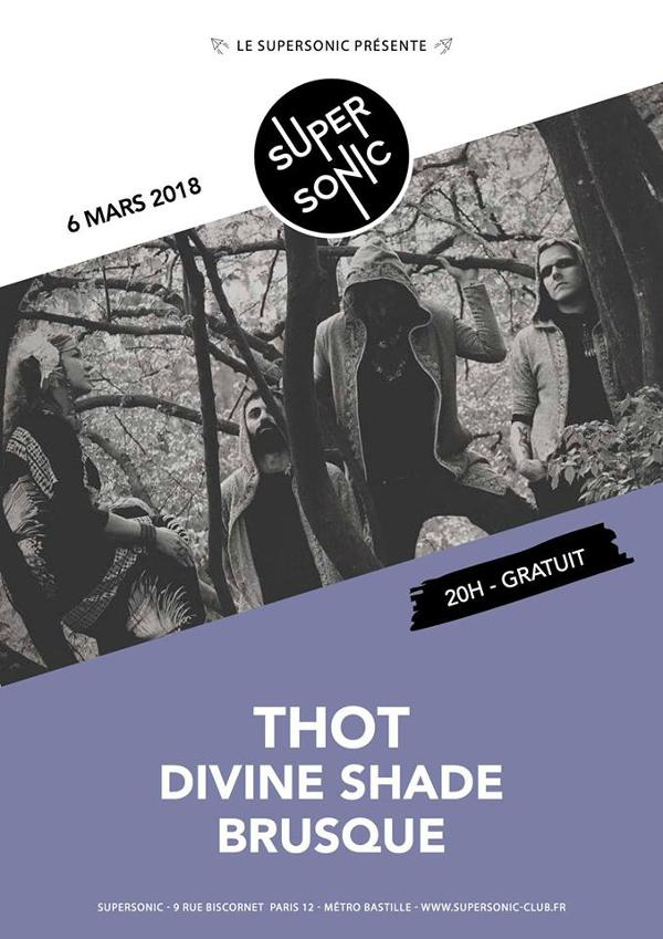 Thot • Divine Shade • Brusque / Supersonic - Free