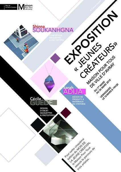 """Exposition Jeunes créateurs """" Design d'objet"""""""