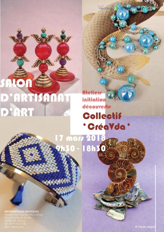 Salon d'artisanat d'art : Collectif CréVdA