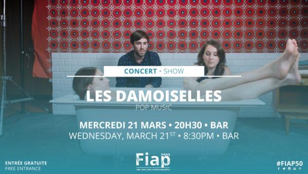 Concert Les Damoiselles