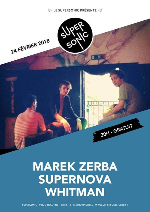 Marek Zerba • Supernova • Whitman / Supersonic - Free