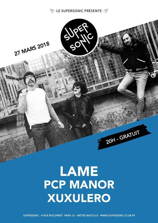 LAME • PCP Manor • XuXulero / Supersonic - Free