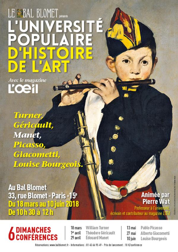 UNIVERSITE POPULAIRE D'HISTOIRE DE L'ART - WILLIAM TURNER