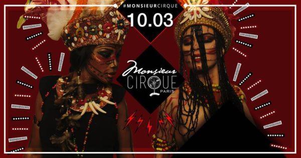 ★ Samedi 10 Mars . Monsieur Cirque ★