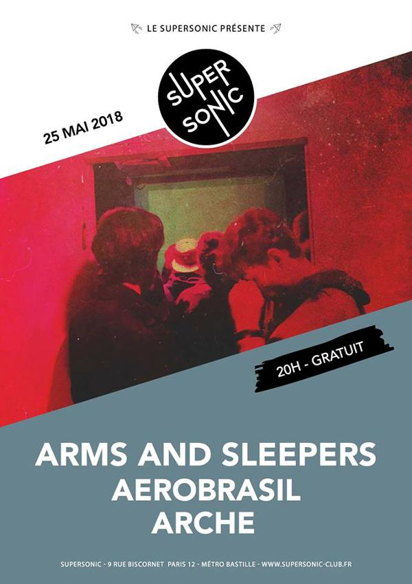 Arms and Sleepers • Arche / Supersonic - Free