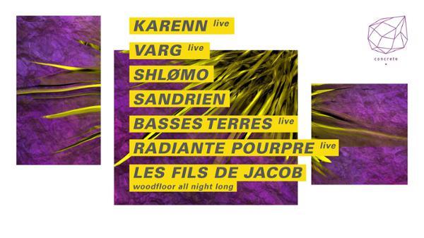 Concrete: Karenn, Varg, Shlomo, Sandrien