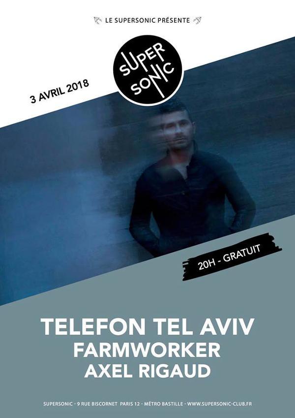 Telefon Tel Aviv • FarmWorker • Axel Rigaud / Supersonic