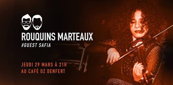 Rouquins Marteaux #Guest Safia