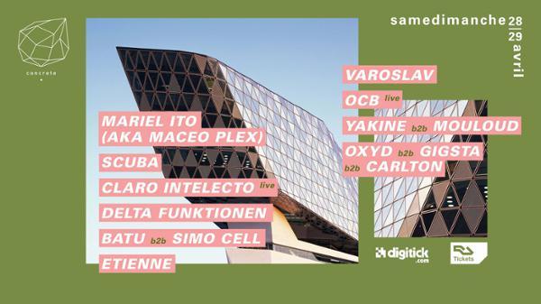 SamedimanchE: Mariel Ito(aka Maceo Plex), Scuba, Claro Intelecto