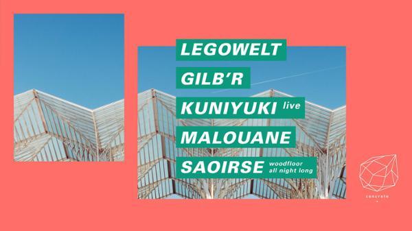 Concrete: Legowelt, Gilb'R, Kuniyuki, Malouane