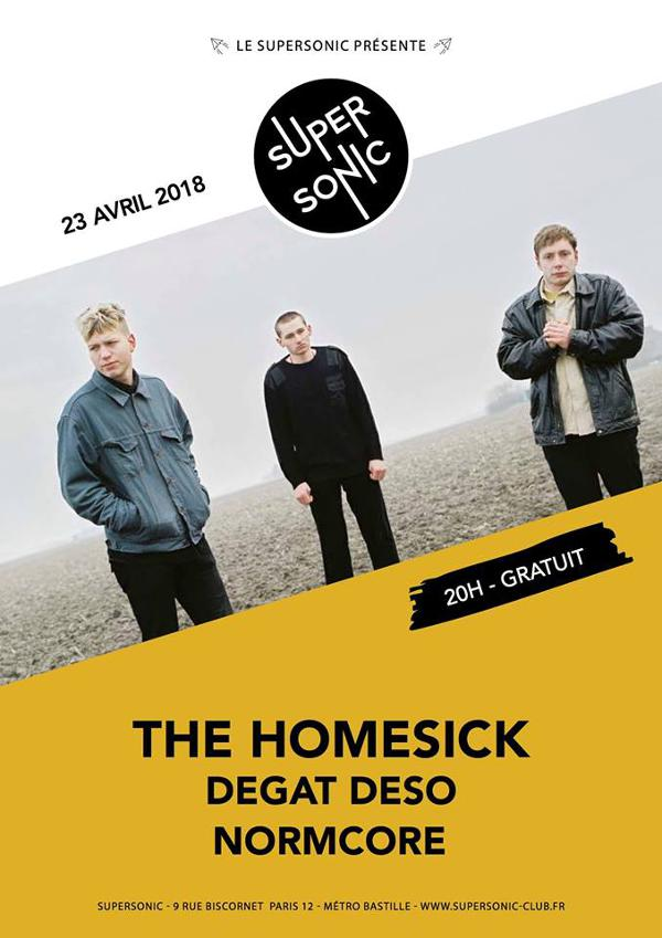 The Homesick • Degat Deso • Normcore / Supersonic - Free