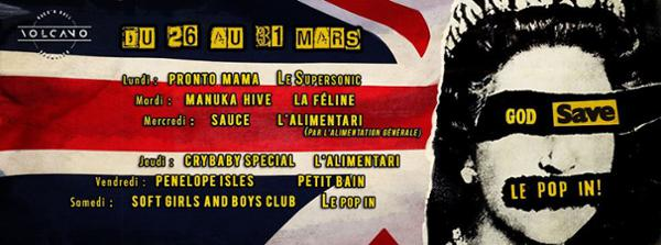God Save Le Pop In! ► Pronto Mama au Supersonic