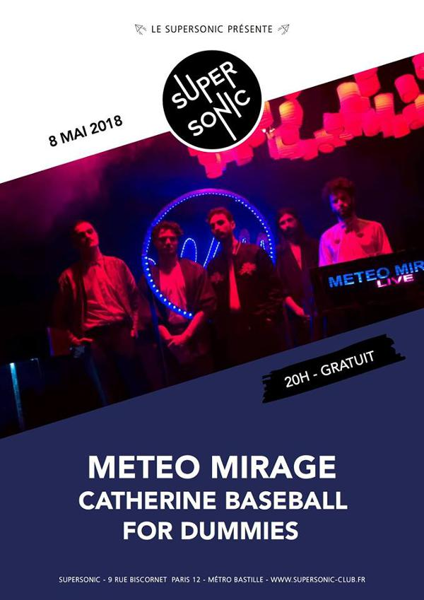 Meteo Mirage • Catherine Baseball • For Dummies / Supersonic