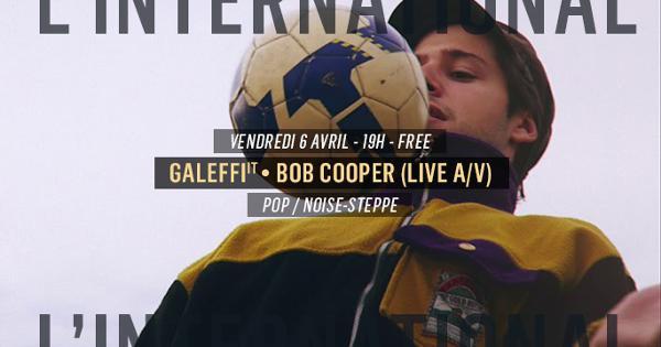Galeffi • Bob Cooper (live A/V)