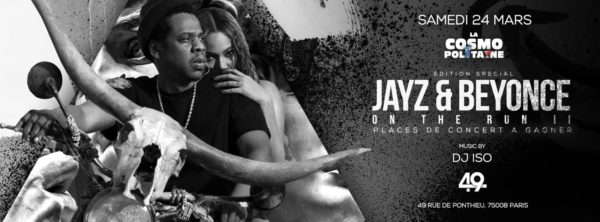 Jayz & Beyonce: Special edition, at Club 49 (Trust)