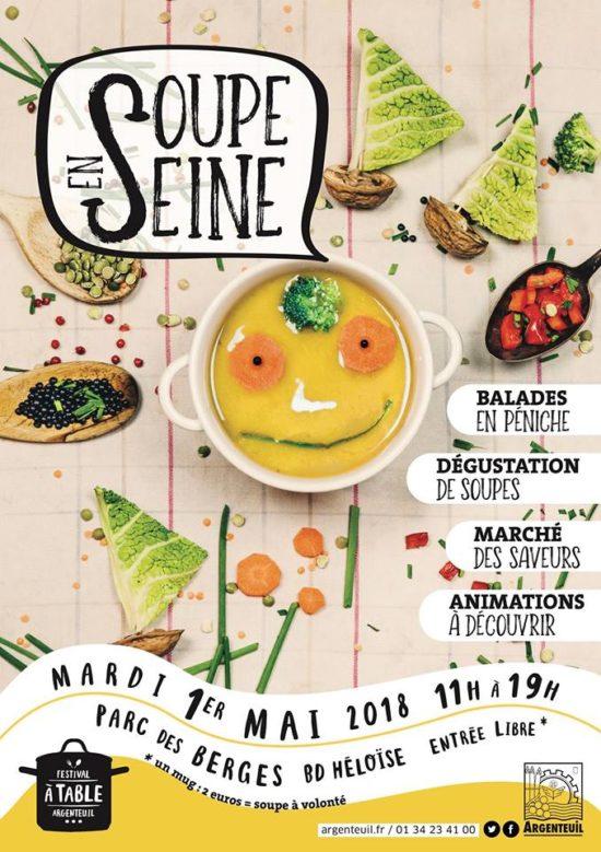 Festival À Table ! Soupe en seine