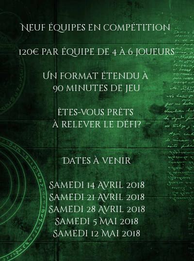 """Live escape game géant """"société secrète"""""""