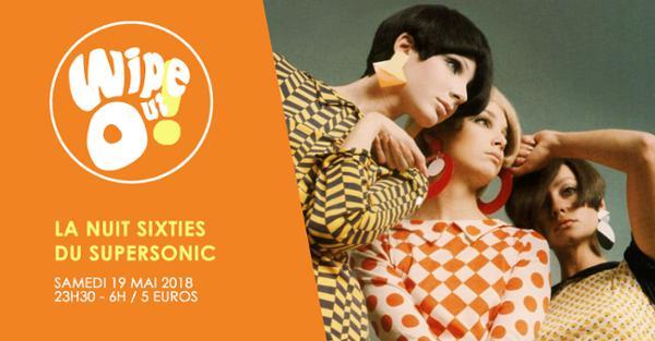 Wipe Out! 60s Party du Supersonic avec Les Grys-Grys