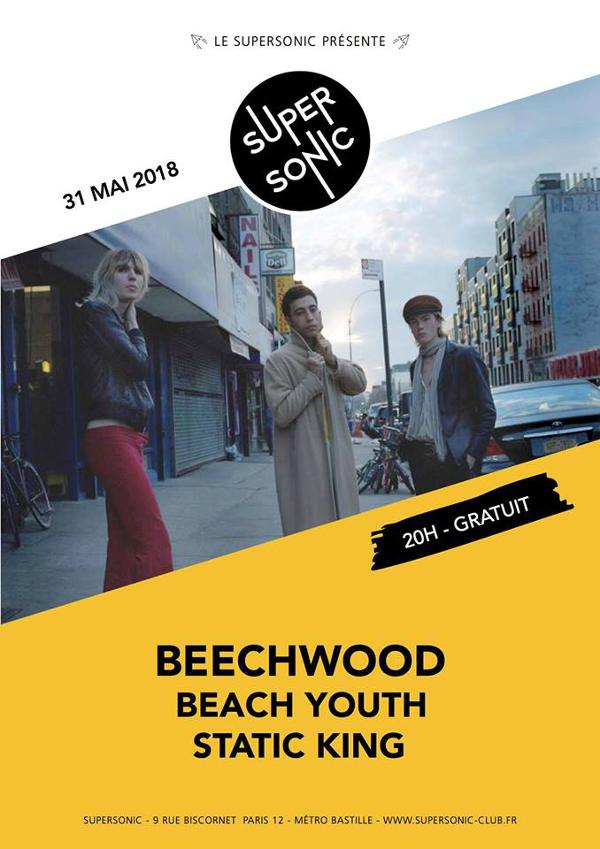 Beechwood • Beach Youth • Static King / Supersonic - Free