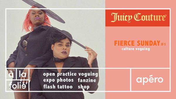 The Kiki House Juicy Couture présente: Fierce Sunday #1 - culture voguing