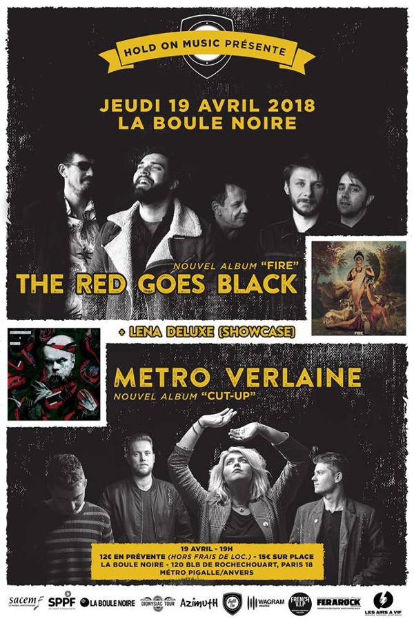 The Red Goes Black + Metro Verlaine release party