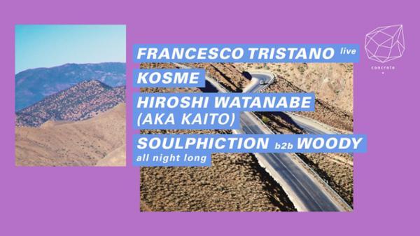 Concrete: Francesco Tristano, Kosme, Hiroshi Watanabe aka Kaito