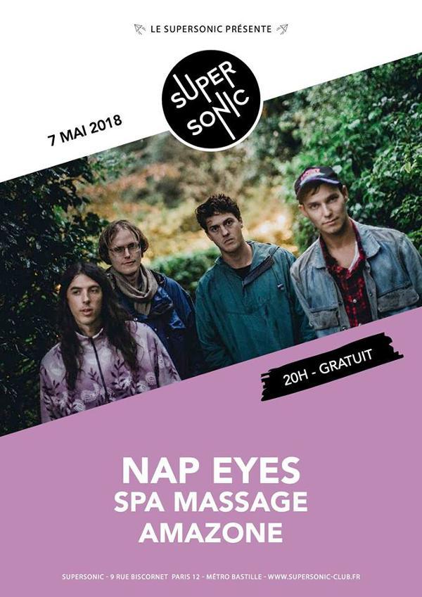 Nap Eyes • Spa Massage • Amazone / Supersonic - Free