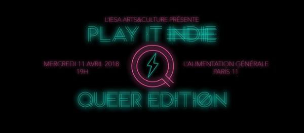 Finale Tremplin Play it Indie - Queer Edition