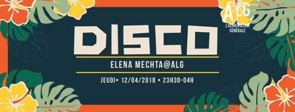 Sacré Soûlé invite Elena Mechta
