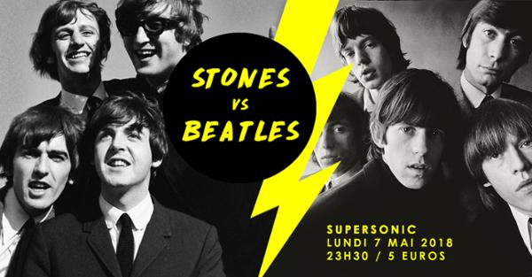 Stones vs Beatles / Supersonic